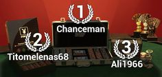 """Winners of the """"Great League of Poker"""", from 24th June to 7th July"""