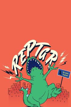 Reptar Rugrats Cartoon Wallpaper Iphone, Iphone Background Wallpaper, Aesthetic Iphone Wallpaper, Screen Wallpaper, Wallpaper S, Aesthetic Wallpapers, Wallpapers Games, Cute Wallpapers, Reptar Rugrats