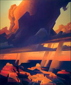 Southwestern landscapes by Ed Mell