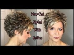 Hair Tutorial: My New Cut - Spiked Style! Hair Tutorial: My New Cut - Spiked Style! Cute Hairstyles For Short Hair, Hairstyles Haircuts, Straight Hairstyles, Short Hair Styles, Braid Hairstyles, Funny Hairstyles, Teenage Hairstyles, Updo Hairstyle, Elegant Hairstyles