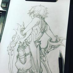 ArtStation - STATO / FANTASY character sketches, Stato Ozo