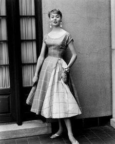 Tina Lesser reversible sheer cotton, 1954
