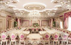Dining Room Design in Dubai, Dinning Room Interior, Photo 1 Mansion Interior, Luxury Homes Interior, Luxury Home Decor, Room Interior, Interior Photo, Interior Design Dubai, Modern Interior Design, Luxury Dining Room, Dining Room Design