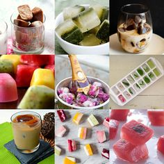 Gulab » Inspiração na mesa: cubos de gelo