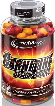 Ironmaxx Ultra Strong Carnitine Kapseln online bestellen. Extra starkes und hochdosiertes L-Carnitin mit 1500mg von Ironmaxx.