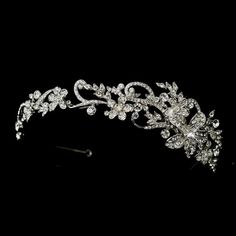 Floral Vine Wedding headband Tiara - just beautiful!