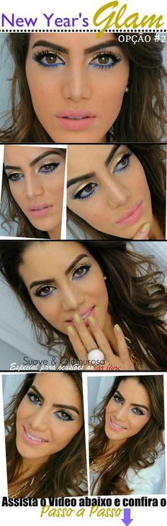 ooooh La La! Camila has a new makeup tutorial for New Year's Eve. Love!