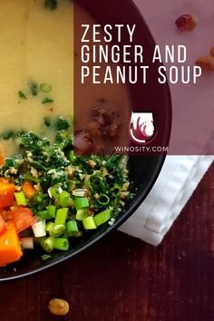 A rich, creamy, and delicious soup with an influence of West African cuisine. This peanut soup recipe is a perfect light and easy summer food for a brunch or dinner idea. A scrumptious soup is an excellent healthy family meal to savor with white wines. #foodforthefamily #familyfavoritemeals #peanutrecipes #recipeswithpeanuts #foodandwinerecipes #pairingwineandfood Easy Summer Meals, Summer Food, Summer Recipes, New Recipes, Healthy Recipes, Brunch Recipes, Dinner Recipes, Dinner Ideas, Peanut Soup Recipe
