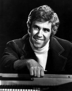 Burt Freeman Bacharach is an American composer, songwriter, record producer, pianist, and singer. A six-time Grammy Award winner[2] and three-time Academy Award winner,[3] he is known for his popular hit songs and compositions from the late 1950s through the 1980s, many with lyrics written by Hal David.