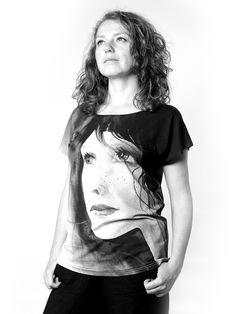PIEGOWATA   Szept M www.szeptm.pl #watercolor #blouse #face #portrait #woman #clotches