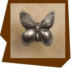 Anne At Home Butterfly Cabinet Knob Standard 8/32 x 7/8″ long screws provided for knobs and pulls as well as hanger bolts for hooks. Cabinet Knobs ,Pulls and Hinges