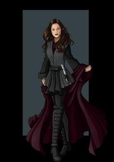 women's black jedi costume - Google Search