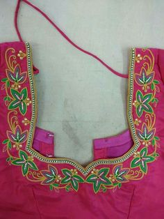 Machine Embroidery Design For Blouse Urban Home Designing Trends