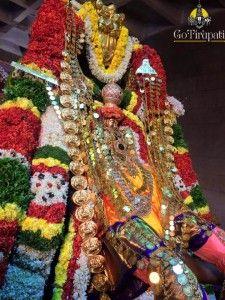 Karthika Brahmotsavam Garuda Vahana Seva