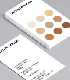 Cream Or Sugar? Everyone has a way they like their tea or coffee. This bold and simple design represents them all. Use it as a coffee loyalty card or as a Business Card for a café. Loyalty Card Design, Loyalty Card Template, Name Card Design, Loyalty Cards, Business Card Design, Business Cards, Coffee Coupons, Coffee Cards, Coffee Business