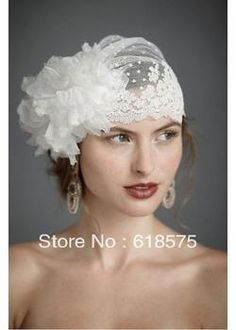 Wholesale Swiss Dot Veil Hat - Buy Hot Selling Swiss Dot Tulle Veil Hat With Handmade Flower Lace Trimming Vintage Wedding Veil 2013, $36.65 | DHgate