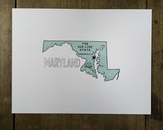 Image of Maryland: The Old Line State