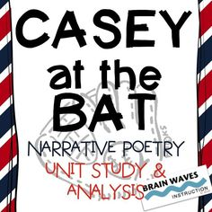 casey at the bat writing activities