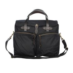 Filson Briefcase 72 Hour Tin. Filson have created the ideal satchel bag for the commute to work or for packing a long weekend away whatever the weather #filson #bag #fashion