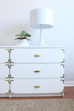Ikea hack! Malm drawers found on Jackie Dici design blog.