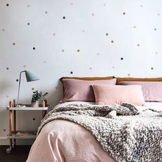 Pequenos Adesivos Dots Tons Rosa e Cinza