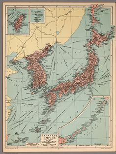 Japanese Empire Map
