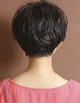 Image result for Long Pixie for Thick Hair