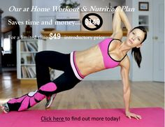Check out our new at home workout plan!