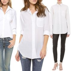 Rank & Style | Top Ten Fashion and Beauty Lists - Oxford Shirts #rankandstyle
