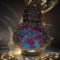 Su Kabağı Lambası, Kabak Lamba, Gourd Lamp