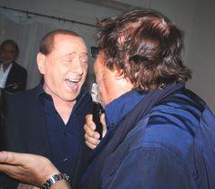 Berlusconi, Francesca, Vespa e Apicella allo Smaila's di Porto Rotondo