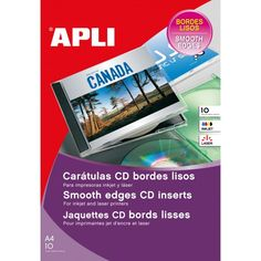 Comprar Etiquetas Caratula Cd- Dvd Acabado Mate Apli 10606 #multimedia #etiquetas #caratula #CD #DVD #acabado #mate