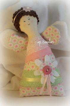 littel angel pink rosa pequena anjinha