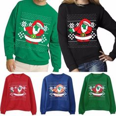 Gogoboi 2017 Xmas Sweaters Ugly Christmas Sweater Couple Matching Clothes Unisex Outfits for Lovers Women Men Autumn Winter NEW Holiday Sweater, Ugly Christmas Sweater, Christmas Sweaters, Christmas Clothes, Ugly Sweater, Sweater Cardigan, Men Sweater, Matching Couple Outfits, Matching Clothes