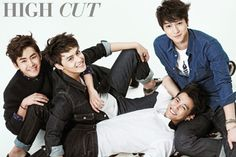 Hoya, Suh Jun Young, Go Kyung Pyo, Do Ji Han in September's High Cut: I think I might want to start getting this!