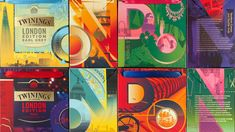 Twinings London Icons on Packaging of the World - Creative Package Design Gallery