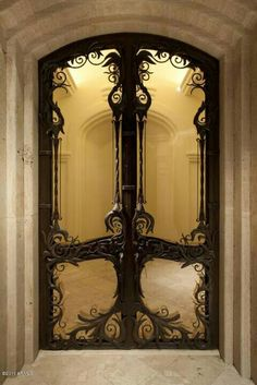 This is what doors would look like Downton Abby met The Lord of the Rings.  So there's that.