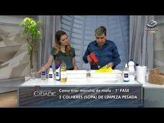 Como tirar manchas de tecido- 03/09/13- 01 - YouTube