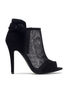 Bershka United Arab Emirates - Bershka mesh ankle boots