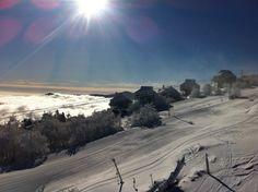 Beech Mountain, North Carolina...  Snowboarding