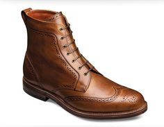 zapatos hombre allen edmonds marrón