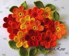Flores naranjas.