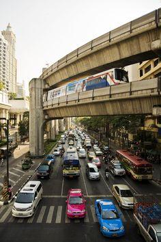 Bangkok Traffic by Gustav Skanby on 500px
