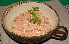 Pomazánka z vepřového masa v konzervě   Vaříme s Marcelou Grains, Rice, Food, Essen, Meals, Seeds, Yemek, Laughter, Jim Rice