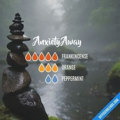 Anxiety Away - Essential Oil Diffuser Blend by lenora Essential Oils For Pain, Essential Oil Blends, Essential Oils