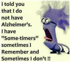 "I Have ""Some-Timers"""