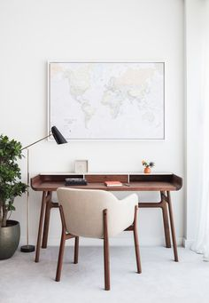Modern New Home in Hampstead—Desk