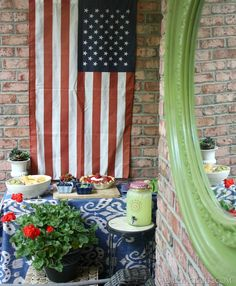 Setting up a summer patio party:    http://emilyaclark.com/2014/05/summer-entertaining-on-our-patio.html #loveyourlook @Kirkland's Home Décor & Gifts