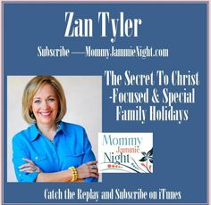 The Christmas season should be joyous, Christ-focused and peaceful, right? For many of us it is a far cry from the ideal as portrayed on the made-for-TV movies. In this session, Zan Tyler shares her heart, making the holiday easy on yourself and special for the children. It is all about creating those precious memories and working in service-type activities that bring a smile to those in need, and bless us in return.