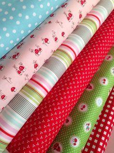 Little Red Riding Hood fox fabric bundle by Tasha noel by fabricshoppe, $18.00
